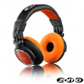 HD-1200 Professional Orange DJ Headphones